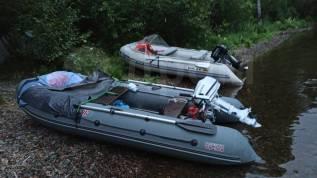 Лодка ПВХ Посейдон+ Honda 5