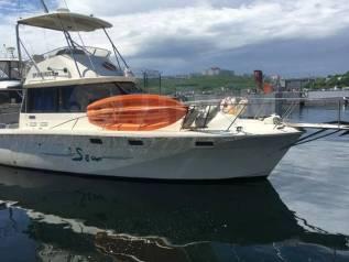 Аренда катера яхты 36 футов 12 метров с сапом и мангалом на борту