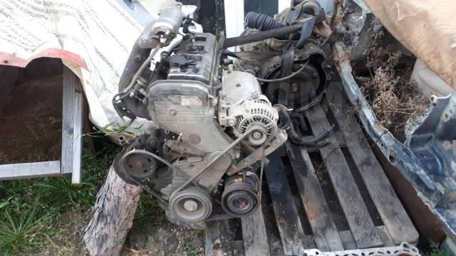 Двигатель в сборе. Toyota Ipsum, SXM10G, SXM15G 3SFE