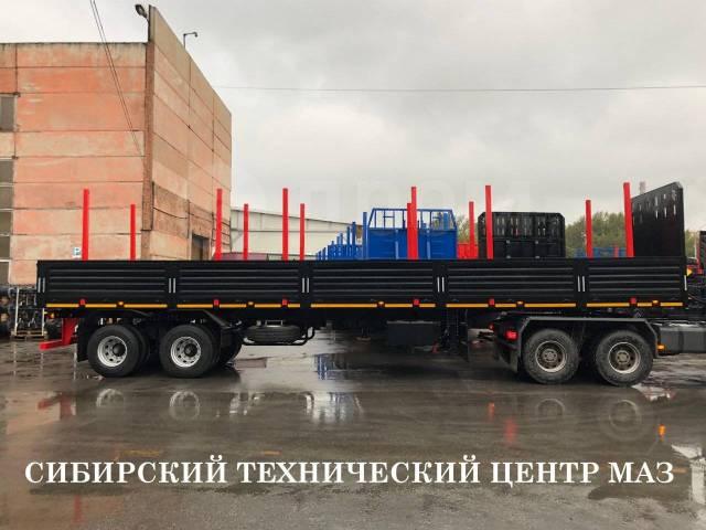 НовосибАРЗ 98131B. Новый бортовой полуприцеп НовосибАРЗ 98131В, 49 000кг.