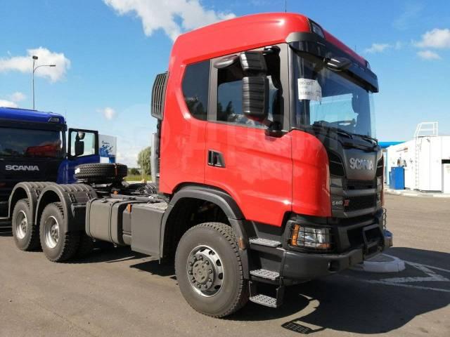 Scania. Седельный тягач G440A6X6HZ, 13 000куб. см., 26 000кг., 6x6