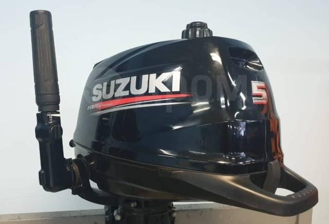 Suzuki. 5,00л.с., 4-тактный, бензиновый, нога S (381 мм), 2016 год