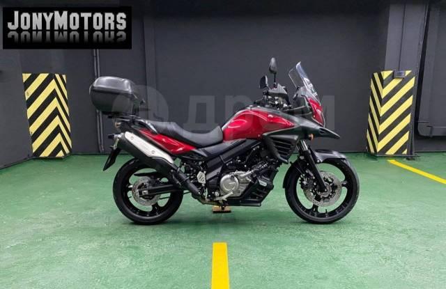 Suzuki V-Strom 650. 650куб. см., исправен, птс, без пробега