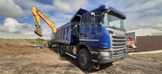 Scania G440. Scania g440, 13 000куб. см., 20 000кг., 6x6