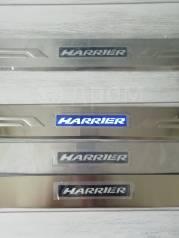 Порожки LED подсветка Toyota Harrier 2003 - 2012 гг (Комплект)