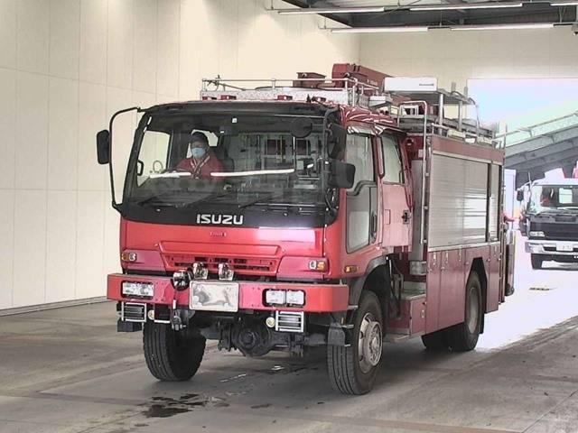 Isuzu Forward. Пожарная машина., 7 790куб. см., 8 000кг., 4x4. Под заказ