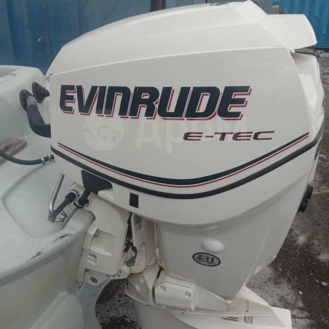 Evinrude. 130,00л.с., 2-тактный, бензиновый, нога L (508 мм), 2009 год