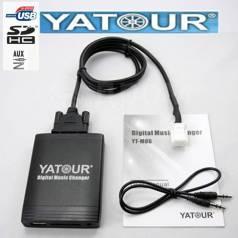 MP3 USB Адаптер Yatour для магнитол. Установка