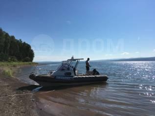 Продам РИБ с каютой Кальмар 730 с 4 х тактным 140 м мотором Сузуки