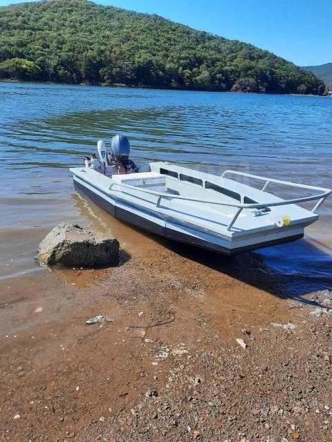 Алюминиевая лодка АМГ5М Profile boat. 2020 год, длина 4,00м., двигатель без двигателя