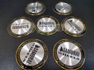 Наклейка на диски. Samurai D 69 мм. В наличии !