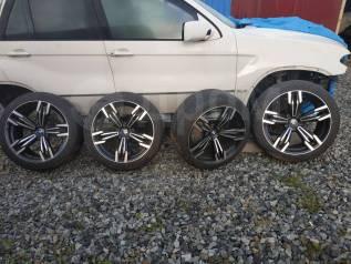 Колеса на BMW/ Шины 275/40R20 + диски стиль 433 из Японии