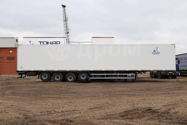 Тонар 97854. Полуприцеп изотермический Тонар R4-16 (41 евро палет), 4 оси, г/п 36 т, 35 500кг.