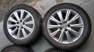 Диски 17 Lexus и резина Gislaved Nord Frost 215/55/R17