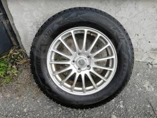 Комплект колёс Bridgestone 225/65 /17 на литье 5/100/17J7/53 в Иркутск