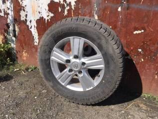 Оригенальные диски + шины на Toyota LC 200