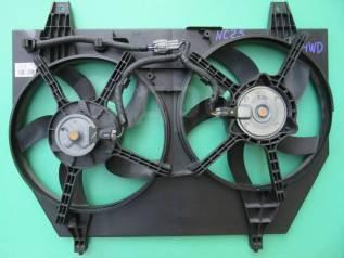 Вентилятор охлаждения радиатора Nissan Serena NC25/CNC25, MR20DE. 4WD.