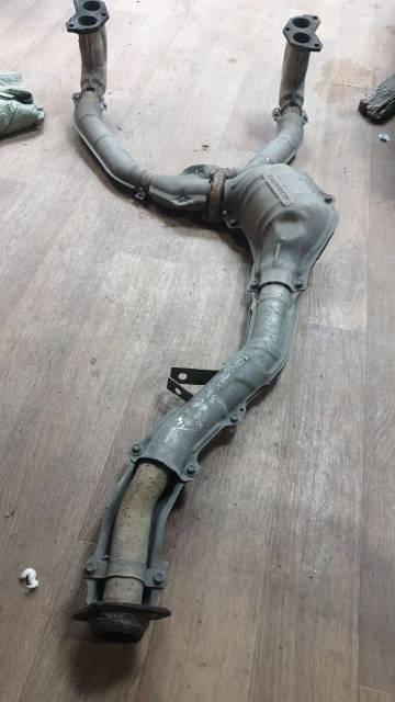 Продам выпускной коллектор + катализатор Subaru Forester, SF5, EJ20