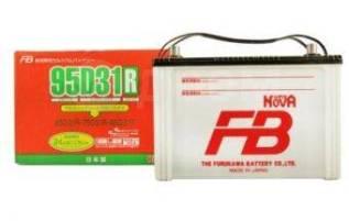 Аккумулятор FB Super NOVA 95D31R, ёмкость 80 А/ч, пусковой ток 740 А