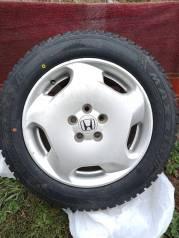 Зимние шины на литых дисках хонда