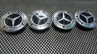 Комплект из 4 шт Заглушка колеса Mercedes (75мм)