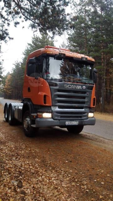 Scania R500. Седельный тягач , 16 000куб. см., 6x4
