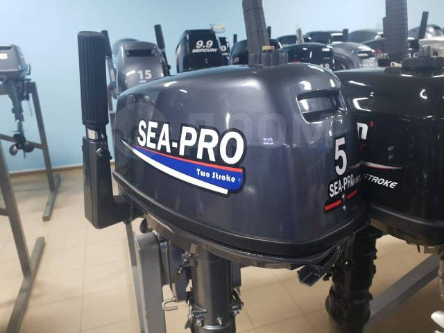 Sea-Pro. 5,00л.с., 2-тактный, бензиновый, нога S (381 мм), 2019 год