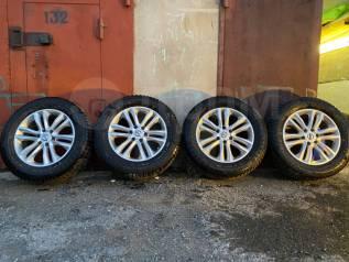 Зимние Шипованные колеса на на Nissan Patrol Y62