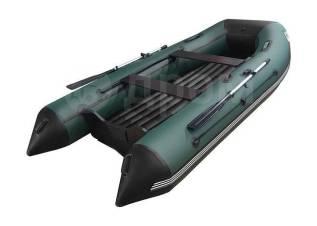 Лодка ПВХ ORCA 360 НДНД, зеленый/черный
