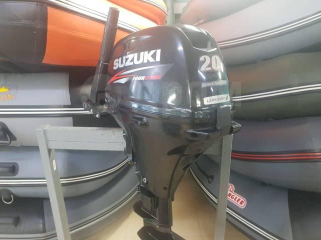Suzuki. 20,00л.с., 4-тактный, бензиновый, нога S (381 мм), 2013 год
