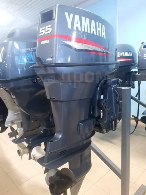 Yamaha. 55,00л.с., 2-тактный, бензиновый