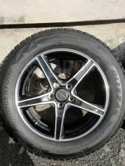 Комплект колёс Bridgestone 225/60 /17 на литье 5/100/17J7/40 в налитск