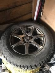 Продам комплект зимних шипованных колёс на литье в отличном состоянии.
