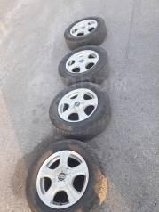 Продам колеса диски с шинами nexen 205/65/ r15. Диски 5*114.3 и 5*100