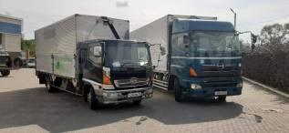 Грузоперевозки по городу и краю фургон-бабочка 20-60м3 1 до 15 тонн