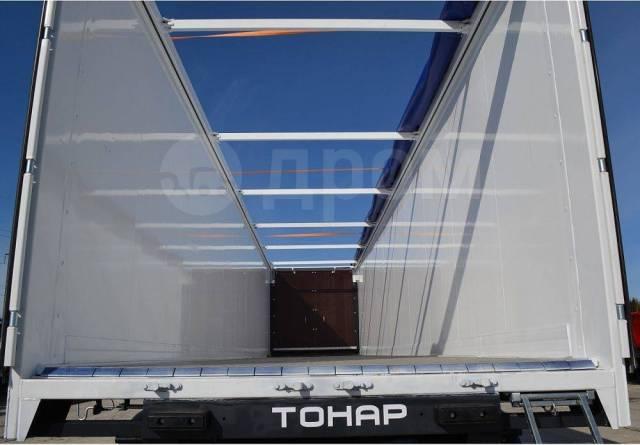 Тонар. 4-ый полуприцеп со сдвижным полом SDP-82 (82,6 м3) Cargo Floor, 40 000кг.