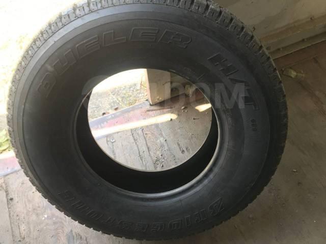 Bridgestone Dueler H/T 689. летние, 2011 год, б/у, износ до 5%