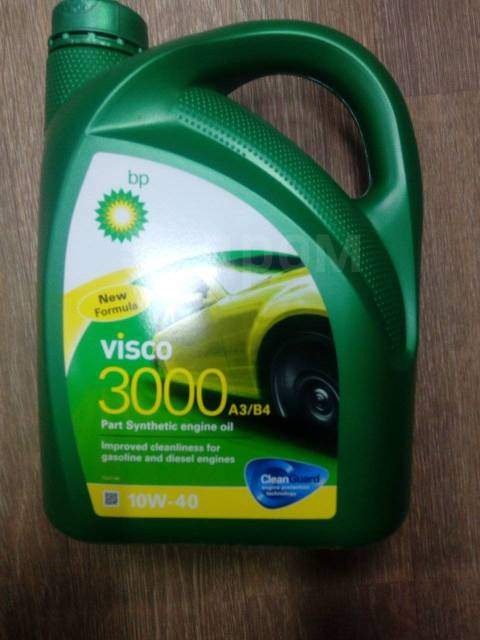 BP Visco. 10W-40, полусинтетическое, 4,00л.