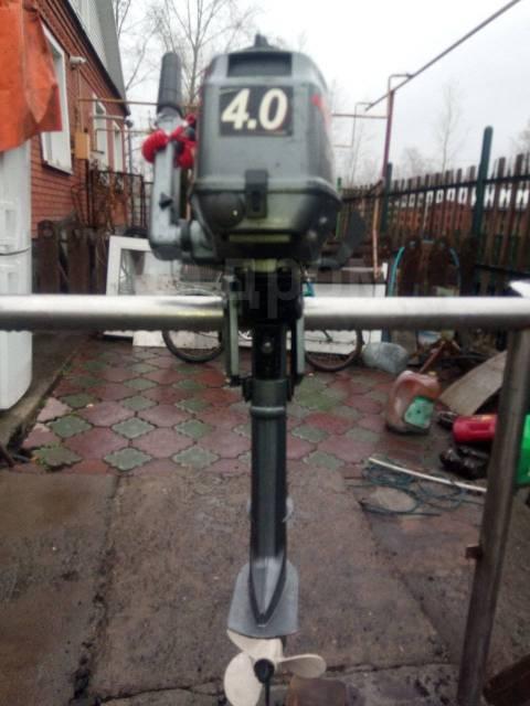 Hangkai. 4,00л.с., 2-тактный, бензиновый, нога S (381 мм), 2016 год