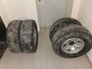 Комплект колёс шипы тлк 105