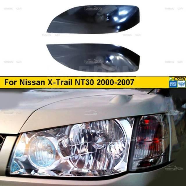 Реснички на фары для Nissan X-Trail NT30 2000-2007