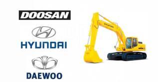 Ремонт Экскаваторов замена гидравлики и ДВС Hyundai/Daewoo/Doosan