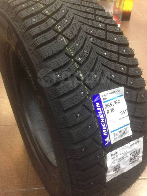 Michelin X-Ice North 4, 265/60 R18 - 2020г!