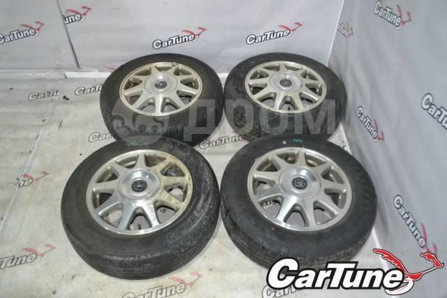 """Toyota R15 6JJ ET50 Dunlop Enasave RV504 195/65R15 [Cartune] 7032. 6.0x15"""" 5x114.30 ET50"""