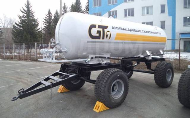 GT7. Прицеп-цистерна аммиаковоз ПЦТА-8, 2 оси, 8 куб. м, 4 043кг. Под заказ