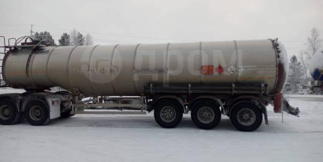 УЗСТ. Полуприцеп нефтевоз битумовоз, 38 720кг.