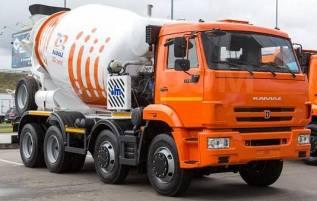 Авто бетоносмеситель 5814Y9 на шасси КАМАЗ 6540-3028-48 (Евро-5)9м3 мешалки, 2020