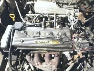ДВС 5A-FE Toyota Трамблерный, дымит