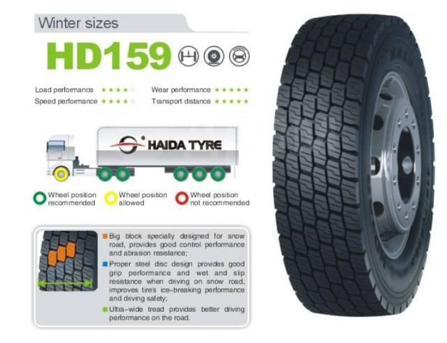 Haida HD159. зимние, без шипов, 2020 год, новый