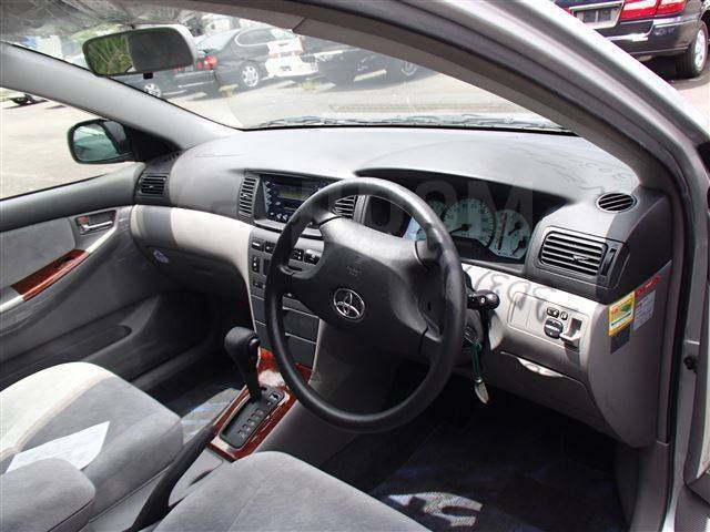 Интерьер. Toyota Corolla, NZE121